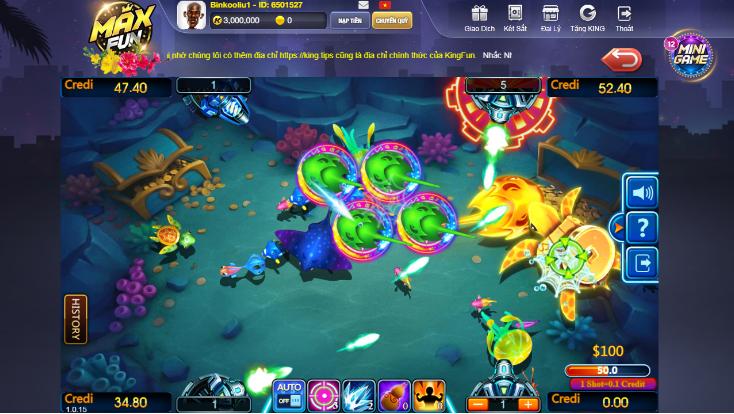 👑 Mẹo bắn cá KingFun – giúp người chơi giành thắng lợi lớn 👑
